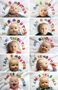 Ideas para documentar el crecimiento de tus hijos1