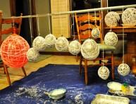 imagen Lámparas con globos decorativos