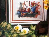 imagen Punto cruz: patron para cuadro o bandeja