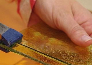 Paso 2 de bandeja giratoria con mosaico para tu hogar