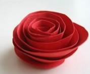 imagen Manualidades con papel: delicadas rosas