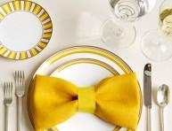 imagen Detalle con servilletas para decorar la mesa