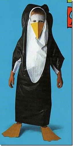 Idea para Hacer un Disfraz de Pingüino