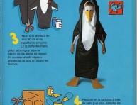 imagen Idea para hacer un disfraz de pingüino