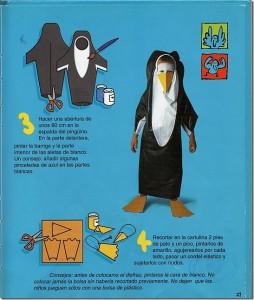 Idea para hacer un disfraz de pingüino - Paso a Paso 2