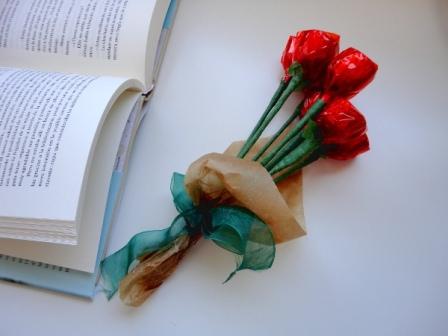 Rosas de Chocolate para Regalar