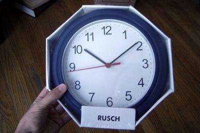 Reloj con un disco de vinilo4