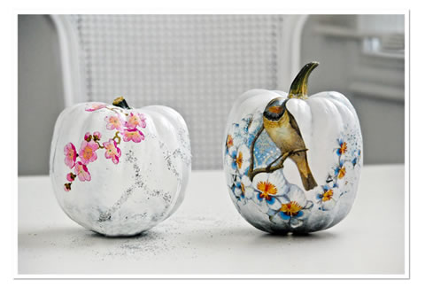 Calabazas Decoradas