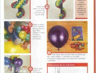imagen Portasouvenirs y sorpresas con globos