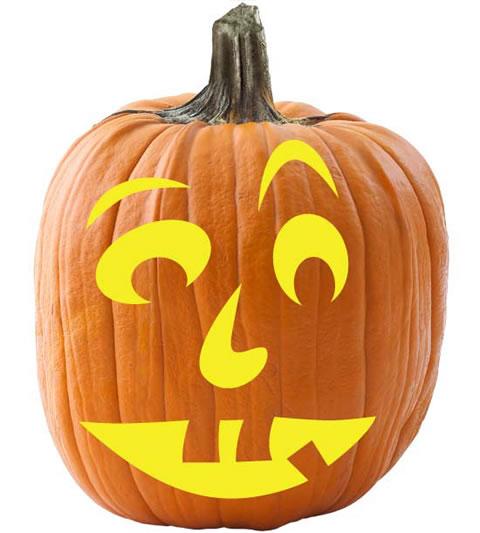 Halloween calabazas para colorear gu a de manualidades - Calabazas pintadas para halloween ...