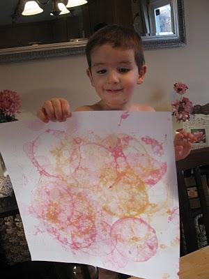 Dibujos con Burbujas