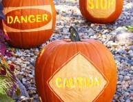 imagen Halloween: patrones para tallar tus calabazas