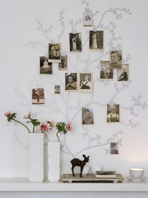 Árbol Familiar para decorar tu Recibidor