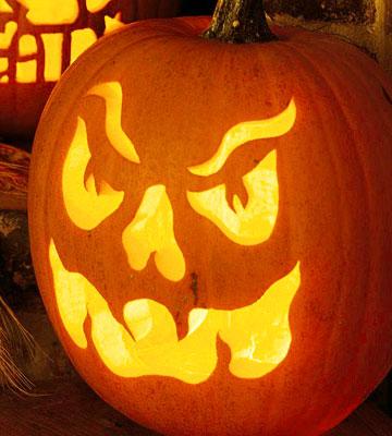 Halloween patrones divertidos para calabazas gu a de - Calabazas de halloween manualidades ...