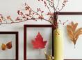 imagen Decora con hojas secas en otoño