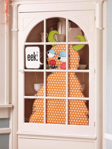 Halloween monstruo para decorar las puertas gu a de for Decoracion para puertas halloween
