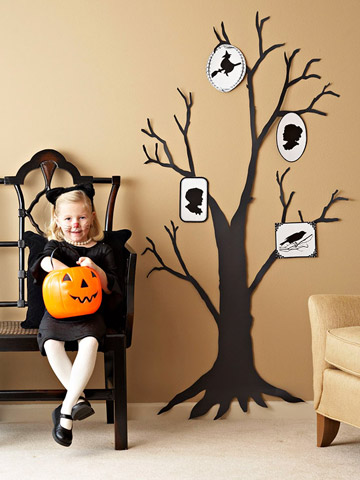 Halloween un Árbol Familiar del Terror