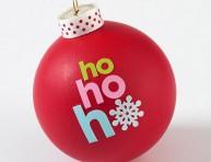 imagen Adornos navideños con mensajes