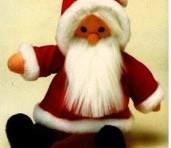 imagen Coge la aguja y haz tu propio Santa Claus