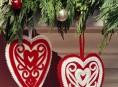 imagen Corazones para el árbol de navidad