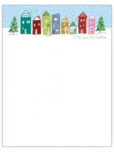Nuevas plantillas para cartas navideñas Gua de MANUALIDADES #1: Patrones de cartas navideñas 3 225x300