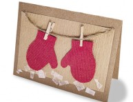 imagen Tarjetas de cartón para regalar en Navidad o Año Nuevo