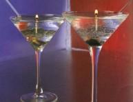 imagen Velas estilo Martini para fiestas