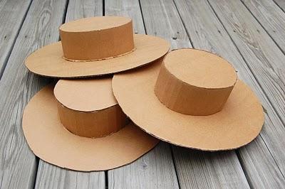 Sombreros de cartón para decorar Artículo Publicado el 26.03.2012 ...
