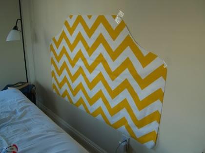 Cabecero de tela para la cama gu a de manualidades - Telas para cabeceros de cama ...