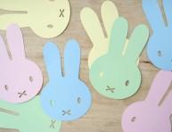 imagen Guirnalda de conejos para pascuas