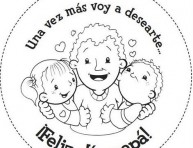 imagen Imprime y colorea las tarjetas del Día del Padre