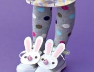 imagen Un conejo en las zapatillas de los peques