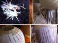 imagen Cómo renovar tu lámpara de papel utilizando hojas