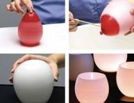 imagen Fanal casero con forma de globo