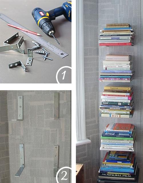 Originales libreros para hacer en casa gu a de manualidades - Hacer manualidades en casa ...