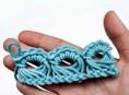 imagen Puntilla tejida a crochet