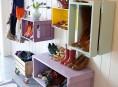 imagen Estantes con cajas de madera de estilo rústico