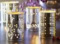imagen Porta velas fáciles con latas