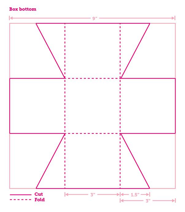 Cómo hacer cajas de fieltro - Guía de MANUALIDADES