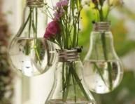 imagen Nuevos floreros con bombillas