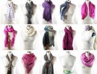 imagen Más de 40 formas de usar un fular o bufanda