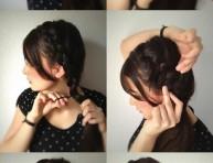 imagen Peinados: una preciosa idea con trenzas
