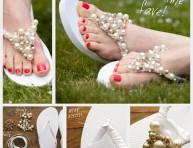 imagen Cómo personalizar tus sandalias de playa