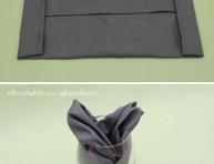 imagen Presenta las servilletas como flores