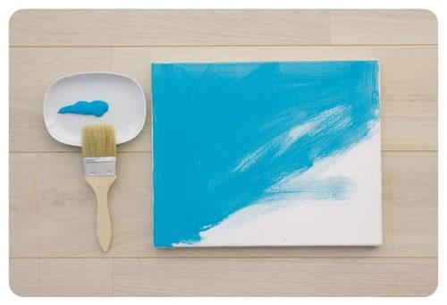 Cuadros faciles de hacer y pintar imagui - Hacer cuadros decorativos ...