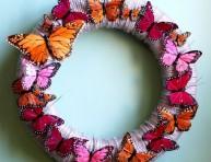 imagen Corona de mariposas
