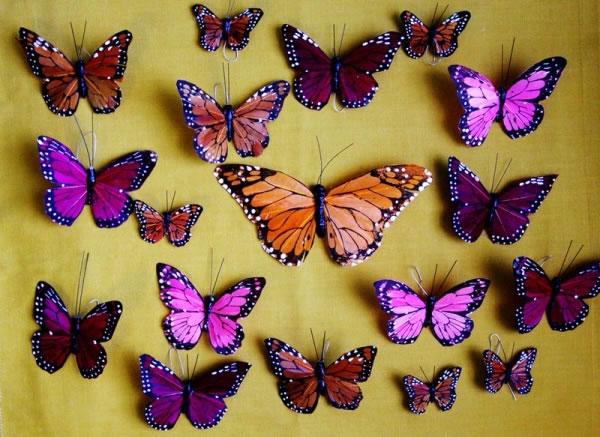 corona facil con mariposas 2