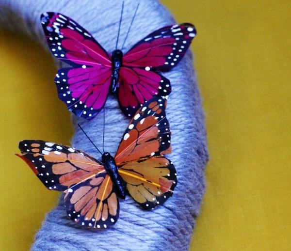 corona facil con mariposas 3