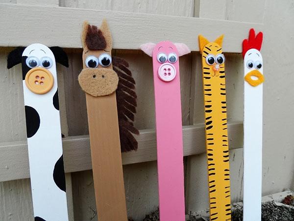 marcadores de libros de animalitos 4