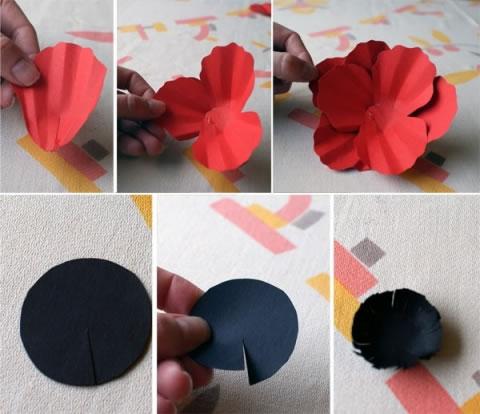 Flores de papel 3